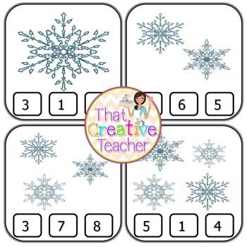 Winter Math Activity