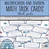 Winter Math Activity- 3rd Grade Multiplication and Division