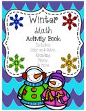 Winter Math Activity Book