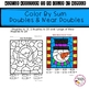 Winter Math Activity- Winter Color By Number Addition to 20