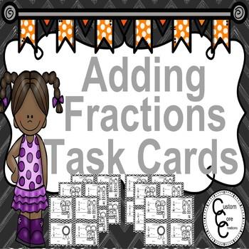 Winter Math Adding Fractions