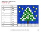 Winter Math: Adding Integers - Color-By-Number Mystery Pictures