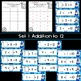 Winter Math Addition - Missing Addends Task Cards