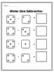 Winter Addition and Subtraction