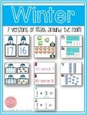 Winter Math Around the Room Bundle
