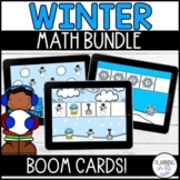 Winter Math BOOM Bundle for December, January & February a