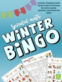 Winter Math Bingo Game
