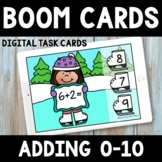 Winter Math Boom Cards -  Distance Learning - Addition 0-10
