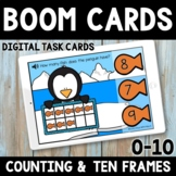 Winter Math Boom Cards -  Distance Learning - Penguin Coun