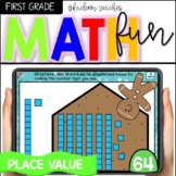 Winter Math Boom Cards-Making Tens and Ones