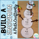 Winter Math for Grades 4 and 5 - Build a Snowman
