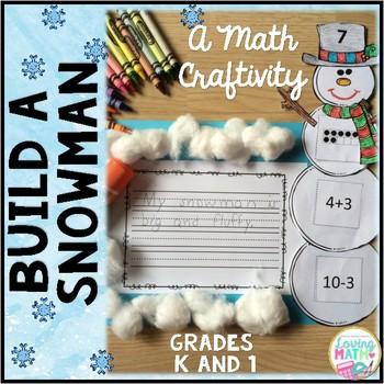 Winter Math - Build a Snowman
