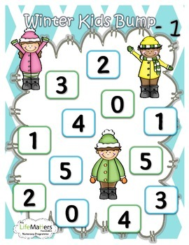 Winter Math Bump +1 -1