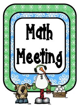 Winter Math Bundle