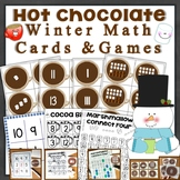 Winter Math Cards & Games (tally marks, ten frames, subiti