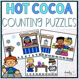Winter Math Center Counting Puzzles {FREEBIE}