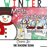 Winter Math Center Games