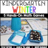 Kindergarten Winter Math Center Games