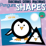 Winter Math Center Shapes