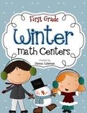 Winter Math Centers {10 Centers}