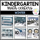 Winter Kindergarten Math Centers