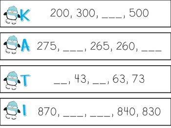 Winter Math Centers {2nd Grade Common Core Aligned}