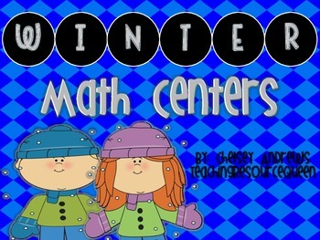 Winter Math Centers {2nd Grade Common Core Aligned}