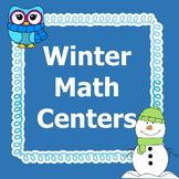Winter Math Centers 4th Grade *Common Core*