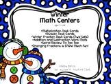Winter Math Centers (4th and 5th Grade)
