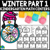 Winter (December) Math Centers Common Core Aligned