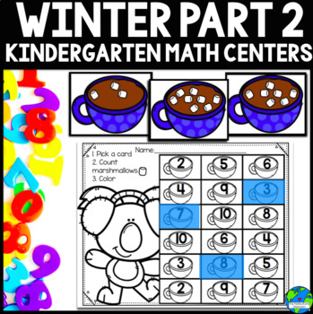Winter (January and February) Math Centers CCSS Aligned