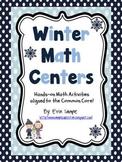 Winter Math Centers- Common Core