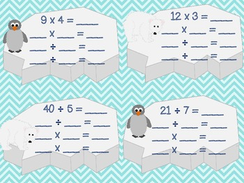 Winter Math Centers: Common Core Multiplication and Division