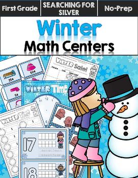 Winter Math Centers {First Grade}
