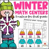 Winter Math Centers First Grade