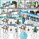 Differentiated Winter Math Centers Bundle Grades 3-4