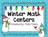 Winter Math Centers (Grades 3-5)