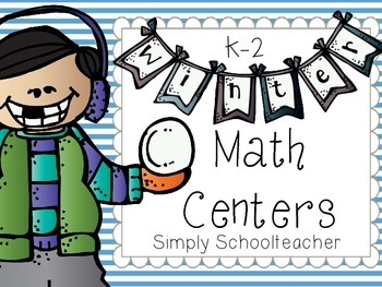 Winter Math Centers K-2 {differentiated!}