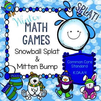Winter Math Centers - Making Ten (K.OA.A.4)