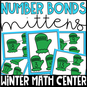 Winter Math Centers- Number Bonds to 20