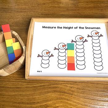 Winter Math Centers, Preschool PreK | Easy Prep, Simple Centers