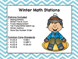 Winter Math Centers