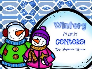 Winter Math Centers TEKS 3rd grade