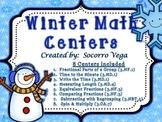 Winter Math Centers: Third Grade!