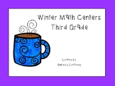 Winter Math Centers - Third Grade