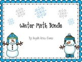 Winter Math Centers and Activities