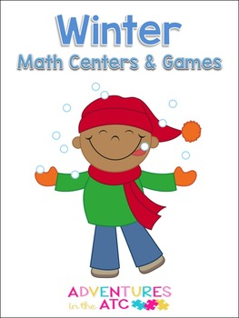 Winter Math Centers and Games