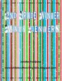 Winter Math Centers for 2nd Grade