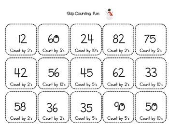 Math Centers - kindergarten, 1st, 2nd - number sense