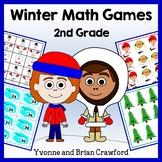 Winter Math Common Core Game Centers - 2nd grade